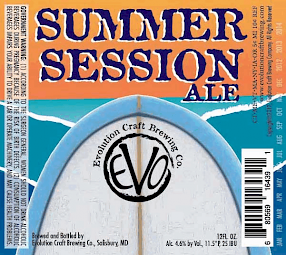 Evolution Craft Brewing Summer Session
